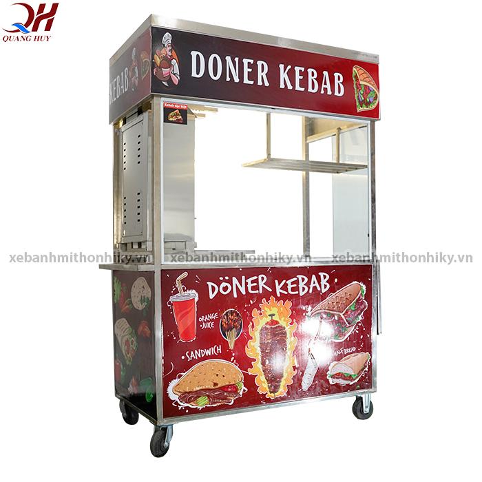 Xe bánh mì Doner Kebab mái bằng 1m3 giành cho ai?