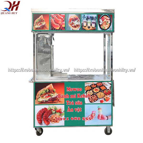 Xe bán đồ ăn vặt được sản xuất bởi Quang Huy