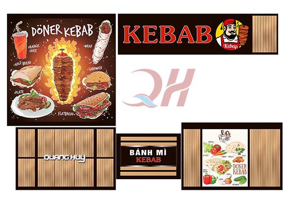 Bạn hoàn toàn có thể yêu cầu Quang Huy về thiết kế Decal xe bánh mì theo ý tưởng của riêng mình