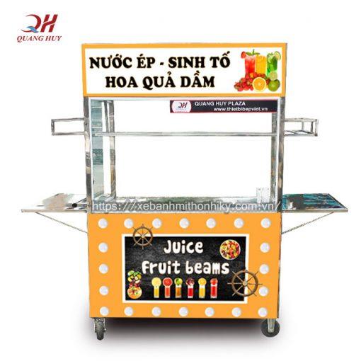 Thiết kế tủ bán nước ép trái cây đẹp giúp bạn dễ dàng tiếp cận khách hàng