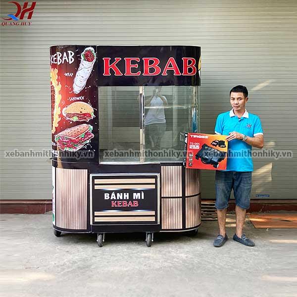 Quang Huy phân phối xe bánh mì doner kebab giá rẻ