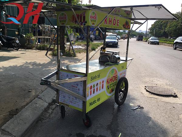 Xe bán nước trái cây vỉa hè sản xuất bởi Quang Huy