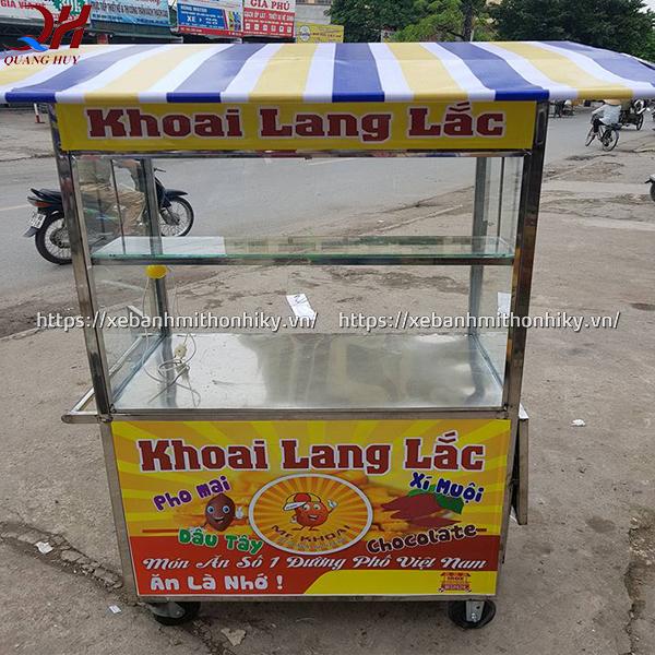Xe bán khoai lang lắc được sản xuất và phân phối bởi Quang Huy