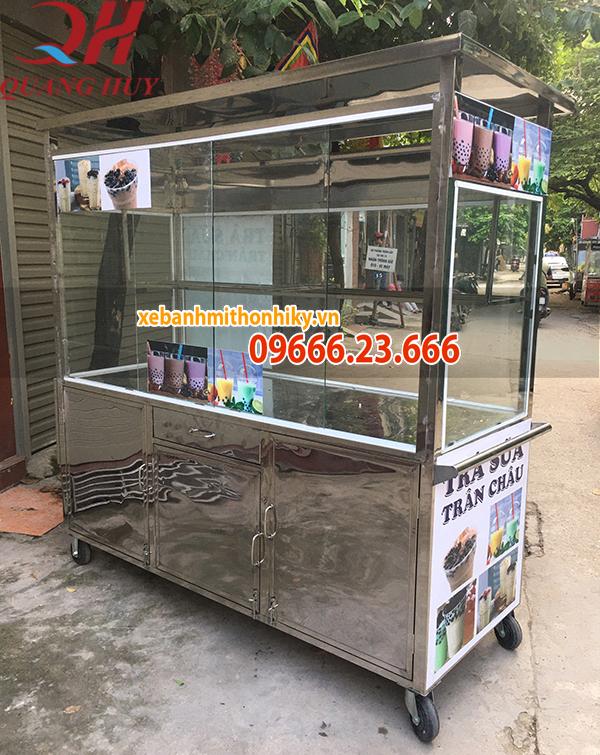 Đặc điểm cấu tạo xe trà sữa do Quang Huy sản xuất và phân phối