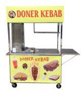Xe Bánh Mì Doner Kebab 1M5 Mẫu Mới 2021