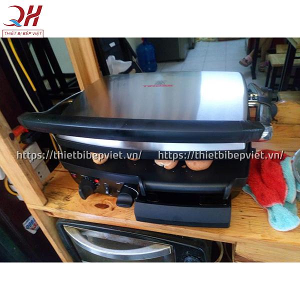 Hướng dẫn cách sử dụng máy kẹp bánh mỳ Tiross 9652