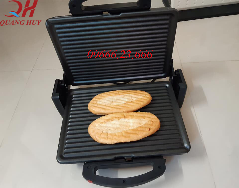 Máy kẹp làm nóng giòn bánh mì