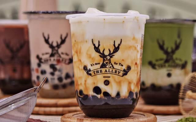 Thương hiệu trà sữa The Alley nổi tiếng