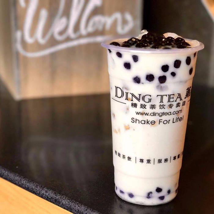 Thương hiệu trà sữa Ding Tea nổi tiếng