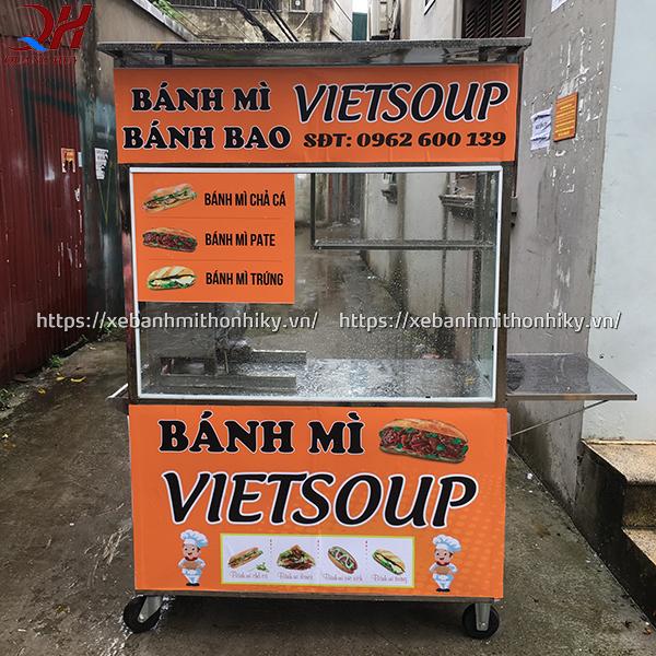 Xe bán bánh bao + bán bánh mì sản xuất bởi Quang Huy