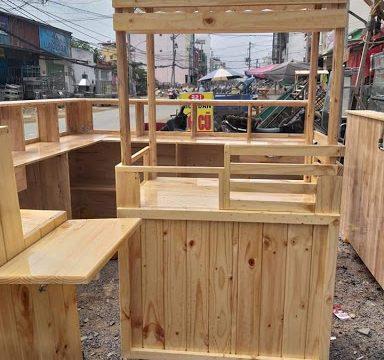 Có nên mua xe gỗ bán cafe giá rẻ hay không?