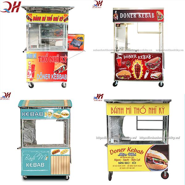 Tại Quang Huy có rất nhiều mẫu xe bánh mì thổ nhĩ kỳ khác nhau cho bạn có thể chọn lựa