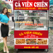 Mua Tủ Kính Bán Cá Viên Chiên Inox 304 Giá Rẻ Tại Quang Huy