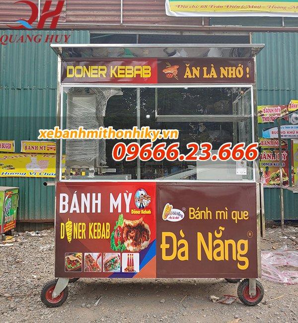 Tại sao bạn nên chọn mua xe bánh mì que của Quang Huy