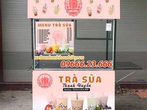 Xe đẩy bán trà sữa – bí quyết kinh doanh trà sữa xe đẩy lãi lớn!