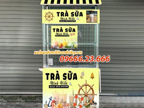10+ mẫu tủ bán trà sữa đẹp, giá rẻ, Hot nhất hiện nay