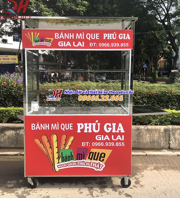 Quang Huy nhận đặt và thiết kế xe bánh mì que theo yêu cầu