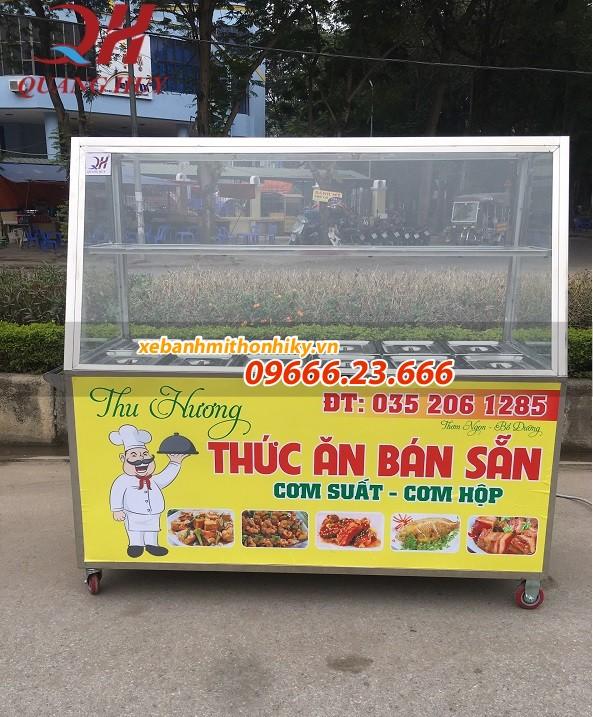 Quang Huy chuyên sản xuất và phân phối tủ trưng bày giữ nóng thức ăn giá rẻ