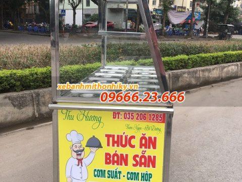 Tủ giữ nóng thức ăn 12 khay Inox 304, dùng điện giá rẻ 2021