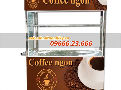 Báo giá tủ bán cafe mang đi tại xưởng mới nhất 2021
