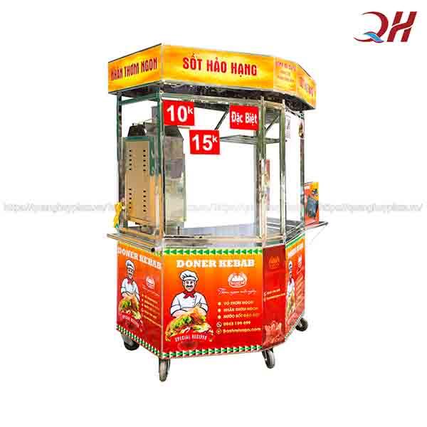 Tủ bán bánh mì Inox